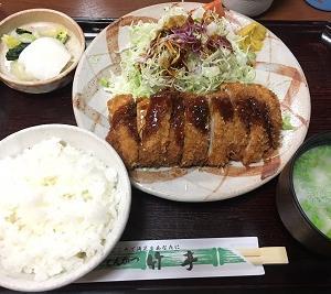 【とんかつ 竹亭】 〜鹿児島県 肝属郡→鹿児島市〜 その参