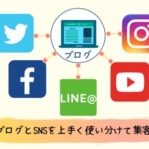 SNSとブログを使った集客方法|連携や使い分けで効率的に発信しよう