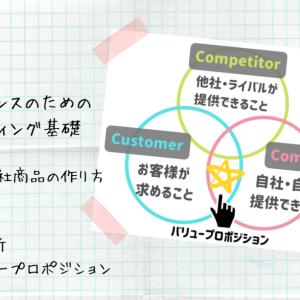 売れる商品・サービスを作るための考え方|3C分析とバリュープロポジション