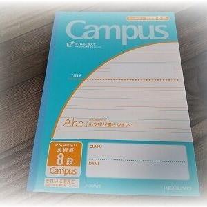英語が書けない!小学生向け英習罫ノートを買いました。