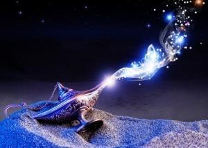 魔法のランプの在り処を探す。day484