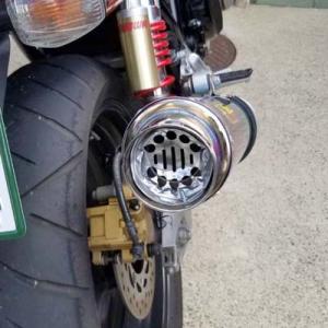 ダイソーのドーナツ型でバイクのマフラーの消音バッフル作ってみた!