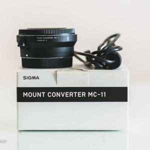 【レビュー】Sigma MC-11動作確認 (2020年最新) | キヤノンレンズがソニーα7IIIで実用レンズになる