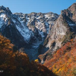 【群馬】絶景!秋の谷川岳マチガ沢・一ノ倉沢・幽ノ沢の三段紅葉が最高過ぎた