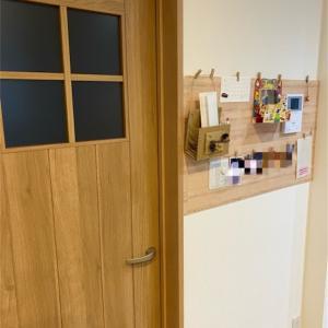 【自宅改造第二弾】壁に穴を開けずに写真コーナーをDIY‼️