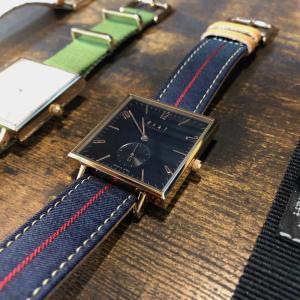 手頃な国産腕時計「knot」でペアウォッチ