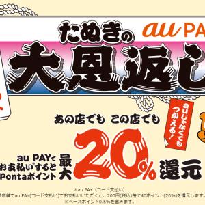 昼寝ねこ氏、auPAYに6万円入金したぬきの大恩返しに本格参戦!!