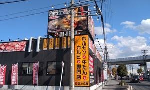 ランチに行こうと思っていたお店が2軒ともお休みでしたので瀬戸市内をさまよっていたら焼肉ランチの旗が目に入ったので焼肉ランチにしました(´・ω・`)
