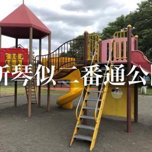 新琴似二番通公園の遊具の紹介