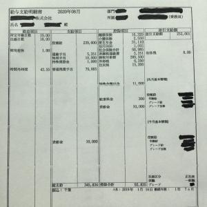 【8月のお給料】シングルマザー 海上コンテナ運転手