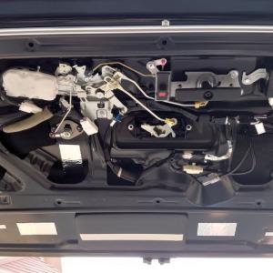 ハイエース200系ワイド リアゲートと運転席下デッドニングの仕方