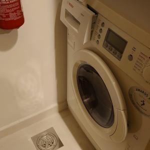 海外の洗濯機の使い方 ドラム式の複雑な操作 アパートメントホテル編