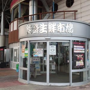 キャンピングカーで車中泊 石川県 道の駅 能登食祭市場 海鮮三昧?実は違った