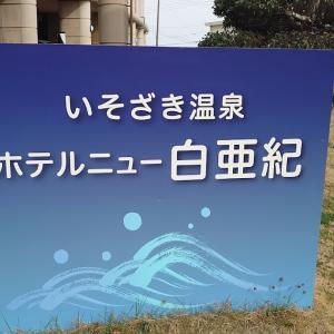 茨城県RVパークいそざき温泉 ホテルニュー白亜紀で車中泊 湯YOUパークだった