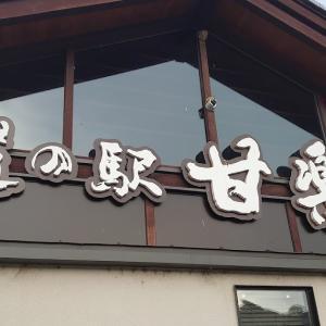 道の駅甘楽で車中泊 楽山園でお抹茶をいただきました