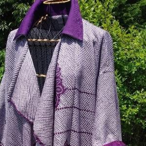 紫の絞りから・・・羽織もの!!!