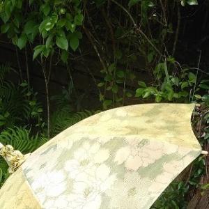 着物から日傘!!