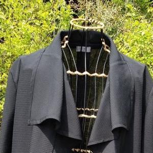 黒絽の羽織もの・・完成!
