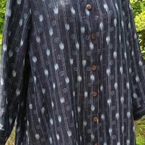 麻の着物からビッグシャツ!