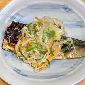 野菜たっぷり!サバ料理