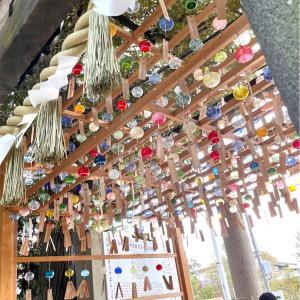 風鈴回廊の氷川神社