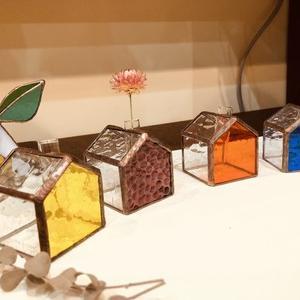 木工房めぐりのワークショップ 『 色ガラスのキーホルダー作り』