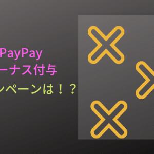 PayPayボーナスゲット!さてどうしようか…。
