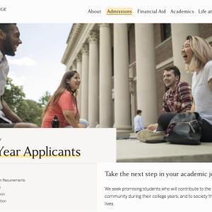 ハーバード大学の出願始まりました。