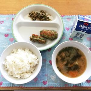 小学校の給食試食会