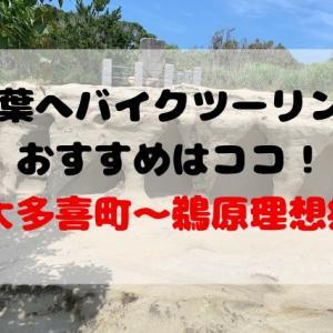 千葉へバイクツーリングならココがおすすめ!大多喜から鵜原理想郷(勝浦)
