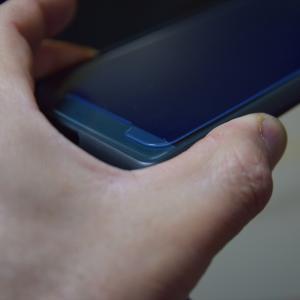 ダイソーのブルーライトカットガラスが丈夫で…