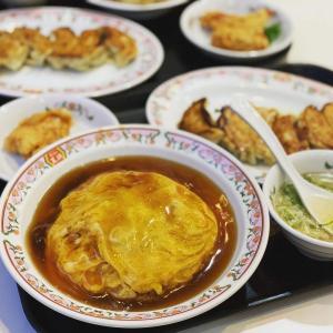【池袋】安定の味 餃子の王将で天津飯を食べてきた