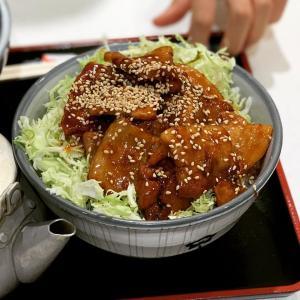 【藤沢】懐かしの味 里のうどんの豚バラ丼を食べたよ