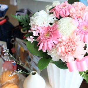 東京でお世話になったトリマーさんからお花が届いた!