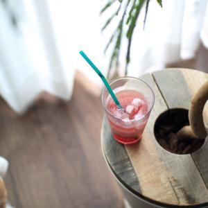 【夏のヘルシードリンク】タピオカみたいなプニプニ食感!ホワイトチアシード入りのぶどう酢ドリンク