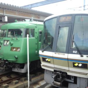 これまでに2ショットで撮影したJR西日本の鉄道写真