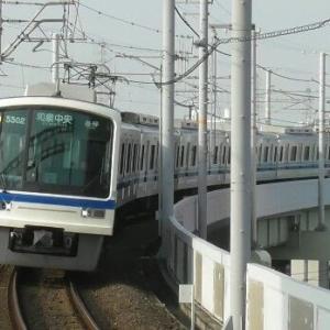 深井駅にて撮り鉄 2020. 8.5