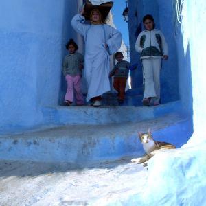 (49)モロッコ◆蒼い街シャウエンで癒される