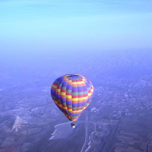 (122)トルコ◆カッパドキアでぼっち気球