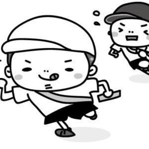 幼稚園で最後の運動会