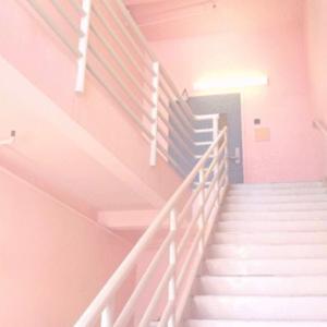 階段で足を踏み外し強打しトラウマに