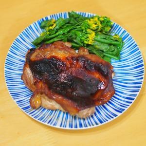 鶏の味噌漬けグリル焼き風