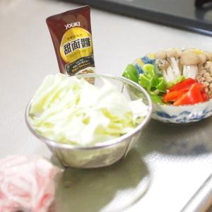 甜麺醤で回鍋肉