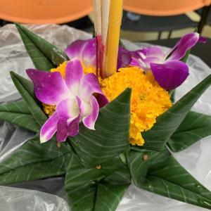 """バンコクでタイの伝統行事""""ロイクラトン祭り""""に参加してきた‼️"""
