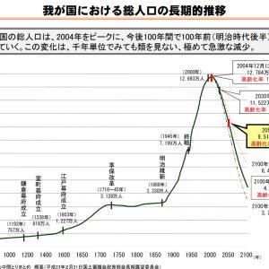 日本の破滅的な少子化と人口減についてできるだけ客観的に見た上で私見を述べたいと思う~一体何が日本社会を破壊しているのか?~