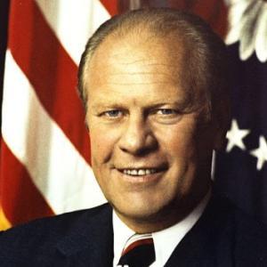 清廉潔白だった第38代アメリカ合衆国大統領ジェラルド・R・フォード