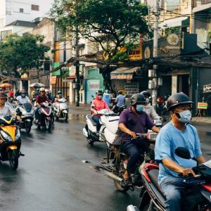 10年前、ベトナムにて。