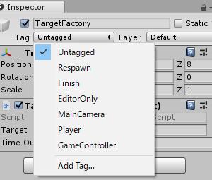 【Unity】3D射的ゲームを作ってみる④(当たり判定を付ける)