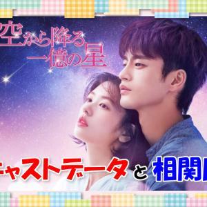 韓国ドラマ【空から降る一億の星】キャスト一覧とあらすじを画像付きでまとめ