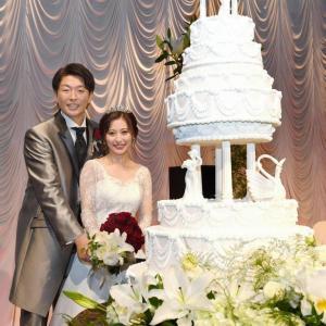 【カープ情報】大瀬良大地と浅田真由さんの結婚披露宴が行われました。(20191215)